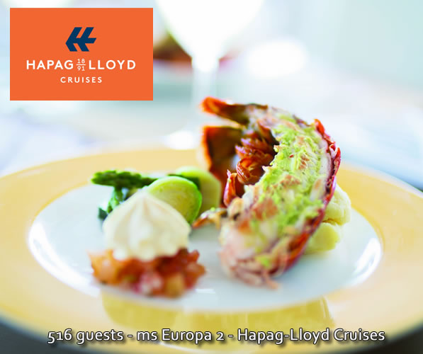 Dining with Hapag-Lloyd on Europa 2