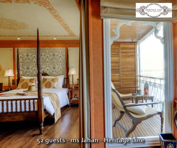 ms Jahan deluxe stateroom - Heritage Line