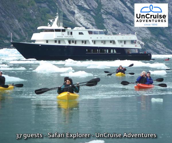 UnCruise Adventures Safari Explorer in Alaska