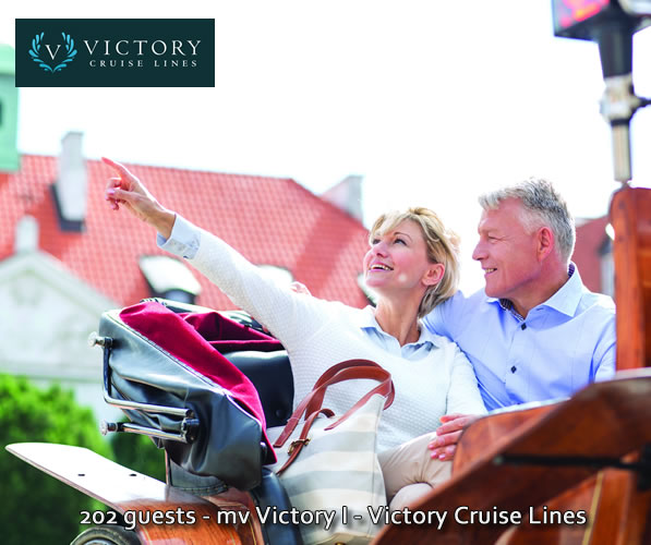 Victory Cruise Lines guests enjoying an included shore excursion