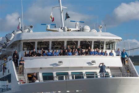 Christening of Lindblad National Geographic's new ship Venture in San Francisco - December 2018
