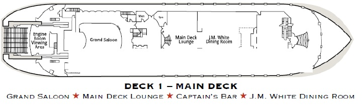American Queen - Main Deck