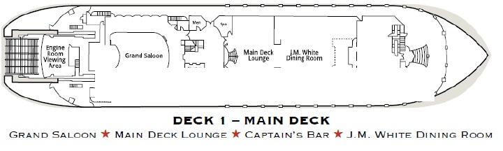 American Queen - Main Deck