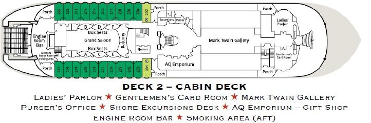 American Queen - Cabin Deck