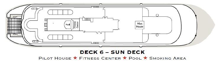 American Queen - Sun Deck