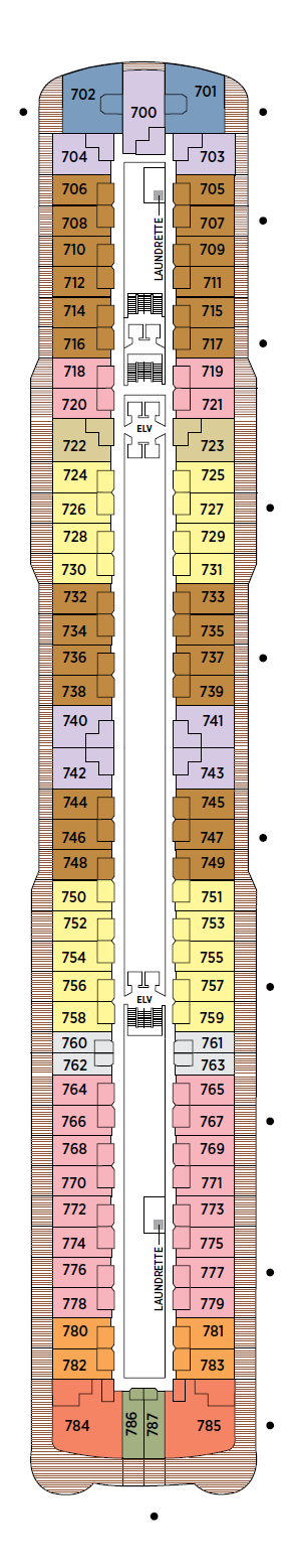 Seven Seas Explorer - Deck 07