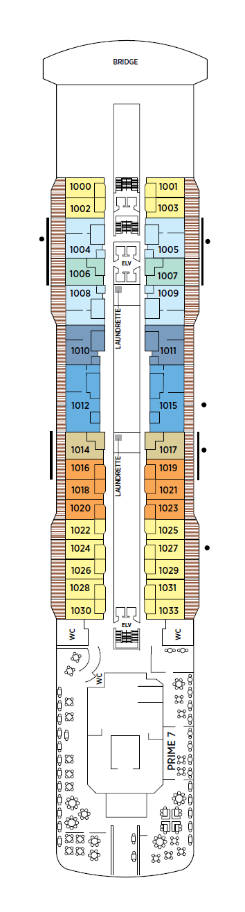 Seven Seas Explorer - Deck 10