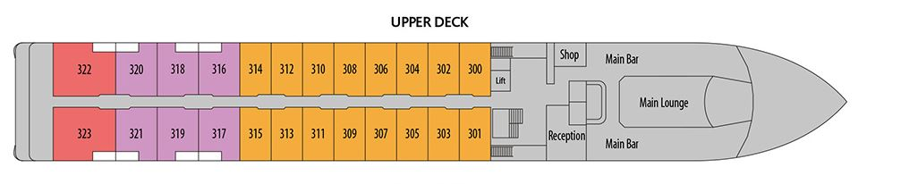 Douro Elegance - Upper Deck