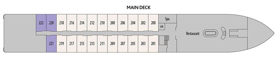 Douro Elegance - Main Deck