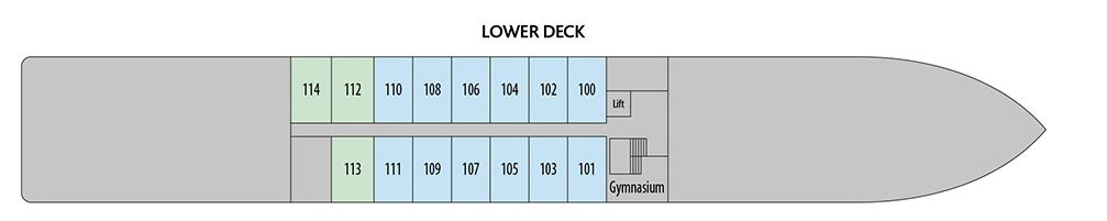 Douro Elegance - Lower Deck