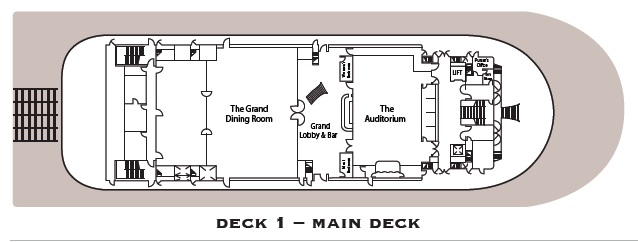 American Duchess - Main Deck