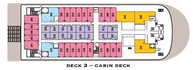 American Duchess - Cabin Deck