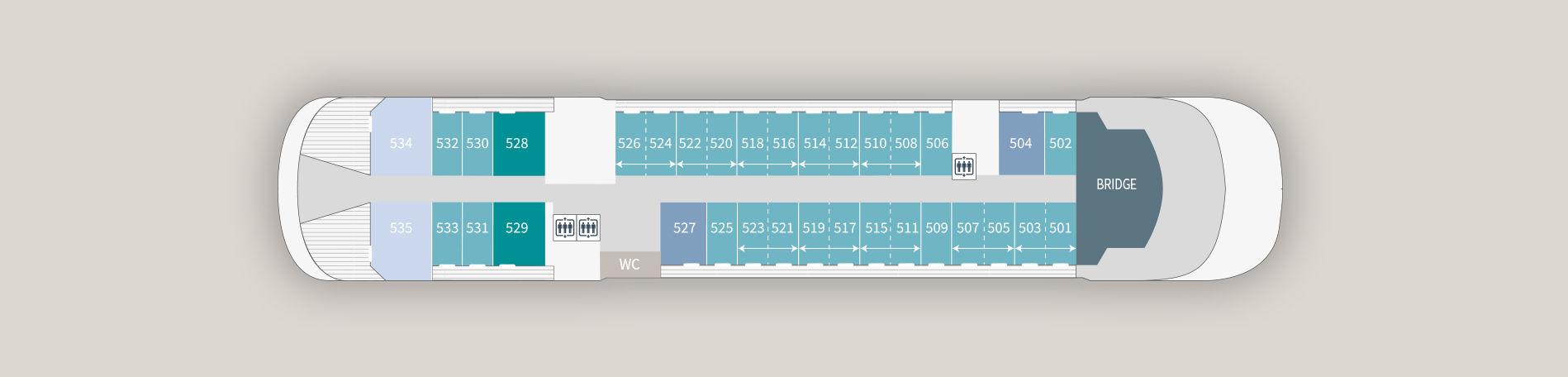 Le Laperouse - Deck 05