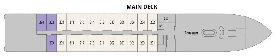 Douro Splendour - Main Deck