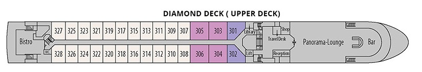 George Eliot - Diamond Deck