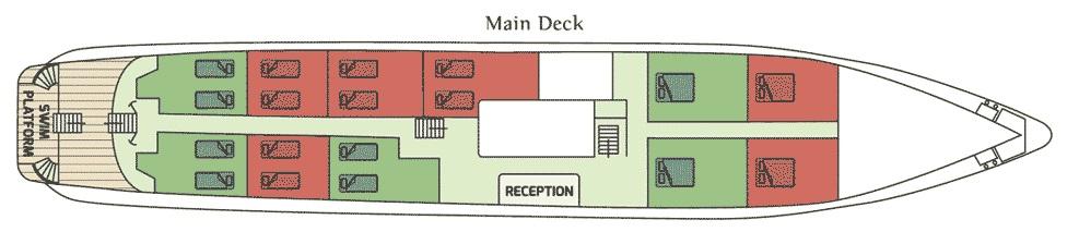 Callisto - Main Deck