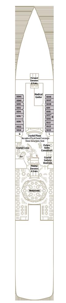 Crystal Symphony - Deck 05