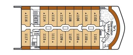 Silver Spirit - Deck 11 (From Apr 2020)