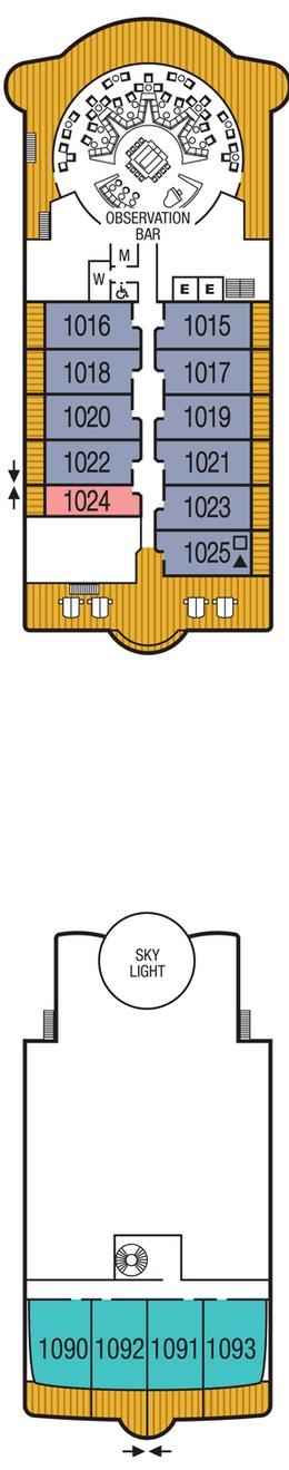 Seabourn Sojourn - Deck Ten