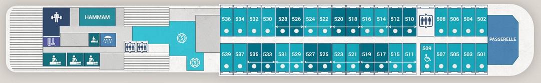 Le Boreal - Deck 5