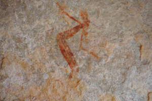 Aboriginal art at Vansittart Bay, The Kimberley Australia