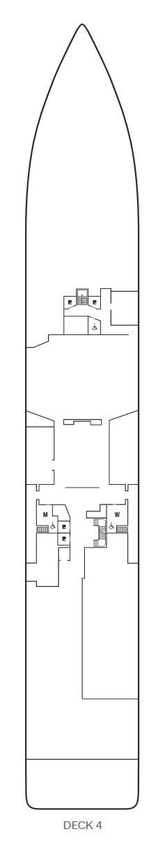 Seabourn Venture - Deck 4