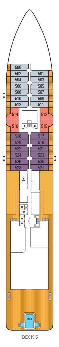 Seabourn Venture - Deck 5