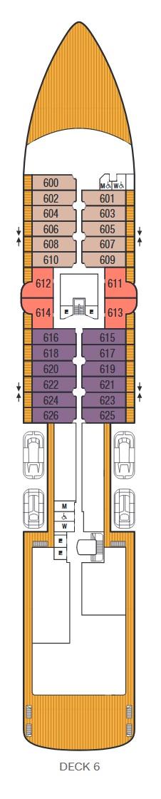 Seabourn Venture - Deck 6