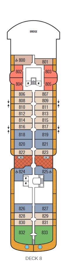 Seabourn Venture - Deck 8