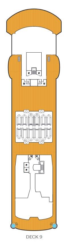 Seabourn Venture - Deck 9
