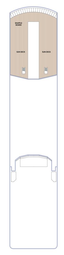 Azamara Journey - Deck 11 (Valid 2020 Onwards)
