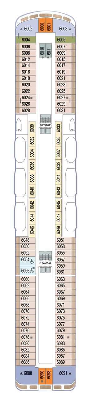 Azamara Quest - Deck 6